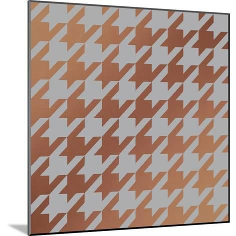 Xmas Houndstooth 4-Color Bakery-Mounted Giclee Print