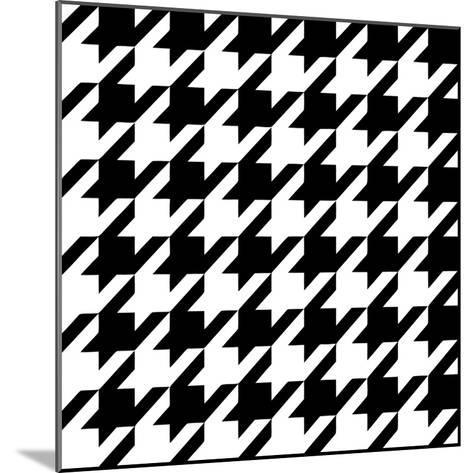 Xmas Houndstooth 6-Color Bakery-Mounted Giclee Print