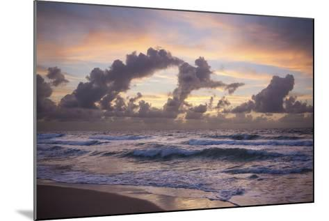 Ocean Sunrise 1-Rob Lang-Mounted Photographic Print