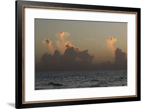 Ocean Sunrise 3-Rob Lang-Framed Art Print