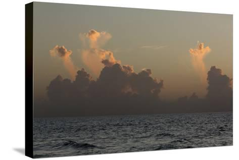 Ocean Sunrise 3-Rob Lang-Stretched Canvas Print