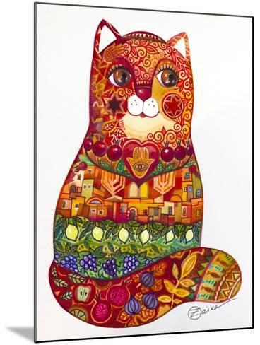 Judaica Folk Cat-Oxana Zaika-Mounted Giclee Print