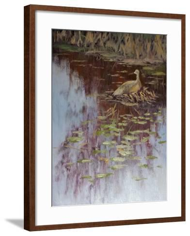 Crane-Rusty Frentner-Framed Art Print