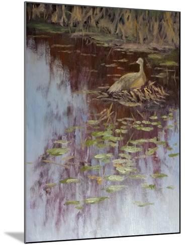 Crane-Rusty Frentner-Mounted Giclee Print