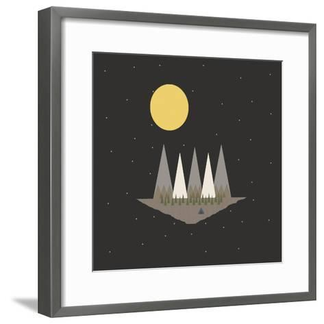 Camping on the Edge of the World-Tammy Kushnir-Framed Art Print
