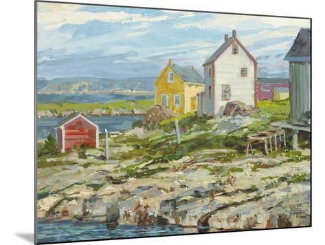 Fisherman's Houses Badger's Quay-Peter Snyder-Mounted Giclee Print