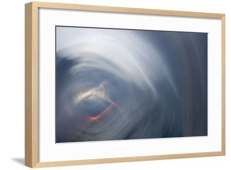 Sunrise Abstract 1-Rob Lang-Framed Art Print