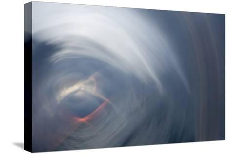 Sunrise Abstract 1-Rob Lang-Stretched Canvas Print