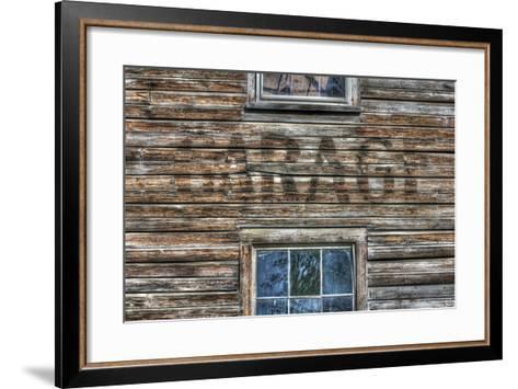 Garage Wall Sign-Robert Goldwitz-Framed Art Print