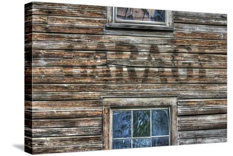 Garage Wall Sign-Robert Goldwitz-Stretched Canvas Print