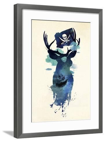 Captain Hook-Robert Farkas-Framed Art Print