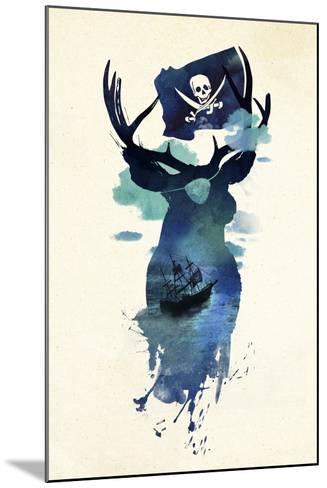 Captain Hook-Robert Farkas-Mounted Giclee Print