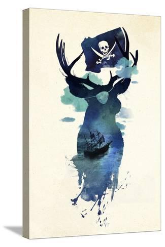 Captain Hook-Robert Farkas-Stretched Canvas Print
