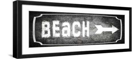 Good Times Beach-LightBoxJournal-Framed Art Print