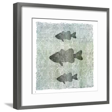 Life Is Better at the Lake Bass-LightBoxJournal-Framed Art Print