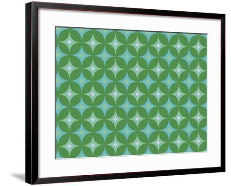 Holiday Geo Design-Joanne Paynter Design-Framed Art Print