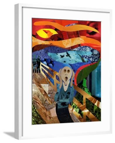 Scream-Artpoptart-Framed Art Print