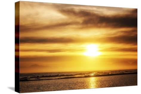 Sunset-Pixie Pics-Stretched Canvas Print