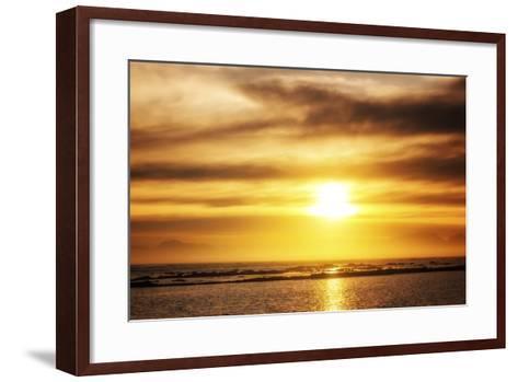 Sunset-Pixie Pics-Framed Art Print