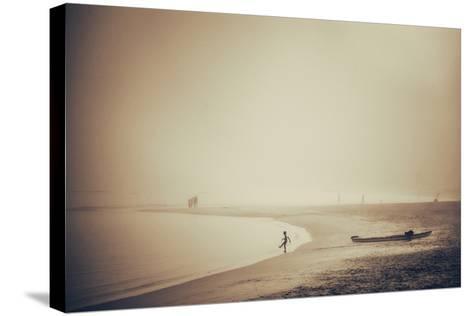 Beach-Pixie Pics-Stretched Canvas Print