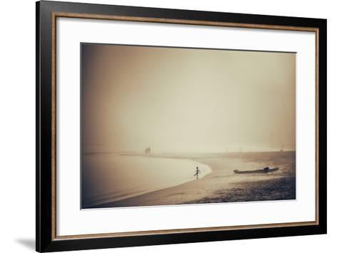 Beach-Pixie Pics-Framed Art Print