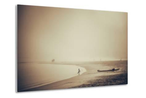 Beach-Pixie Pics-Metal Print