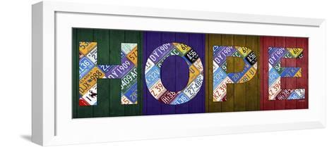 Hope-Design Turnpike-Framed Art Print