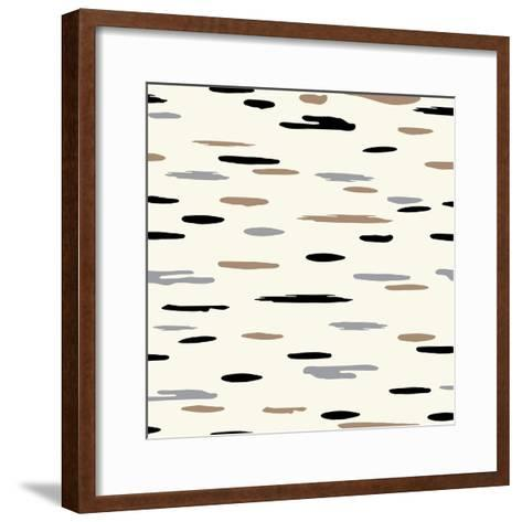 Birch Tree Bark-Joanne Paynter Design-Framed Art Print
