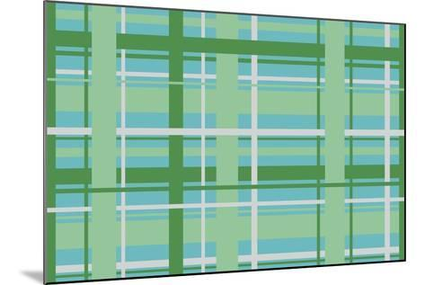 Plaid 3-Joanne Paynter Design-Mounted Giclee Print
