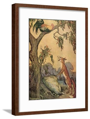 CA Fairy 11-Vintage Apple Collection-Framed Art Print