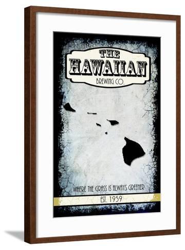 States Brewing Co Hawaii-LightBoxJournal-Framed Art Print