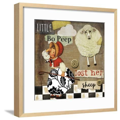 Childhood II-Color Bakery-Framed Art Print