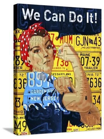 Rosie-Design Turnpike-Stretched Canvas Print