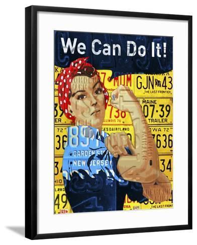 Rosie-Design Turnpike-Framed Art Print