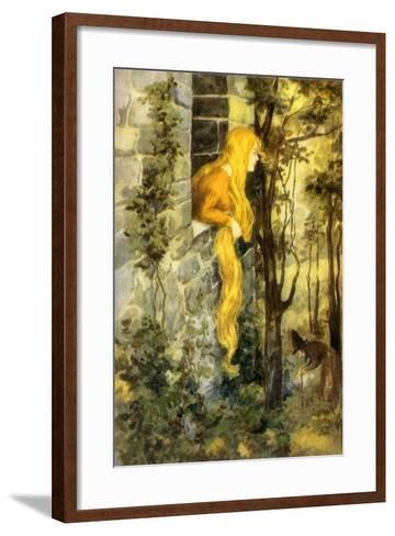 CA Fairy 16-Vintage Apple Collection-Framed Art Print