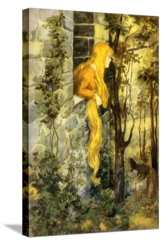 CA Fairy 16-Vintage Apple Collection-Stretched Canvas Print