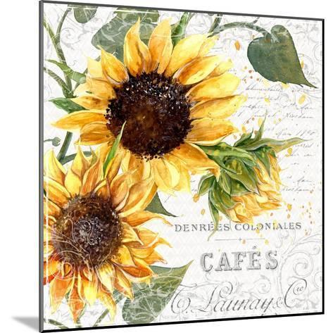 Summertime Sunflowers II-Irina Trzaskos Studios-Mounted Giclee Print