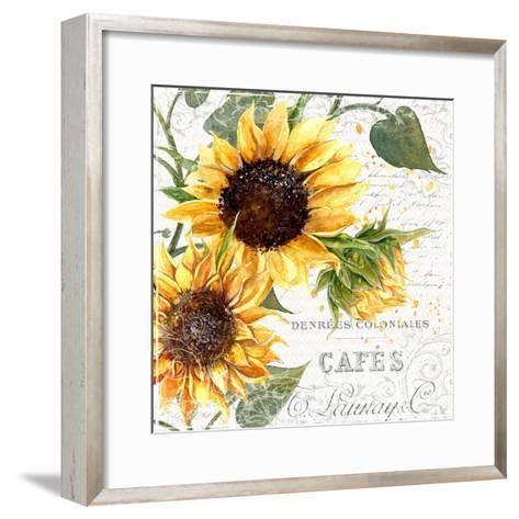 Summertime Sunflowers II-Irina Trzaskos Studios-Framed Art Print