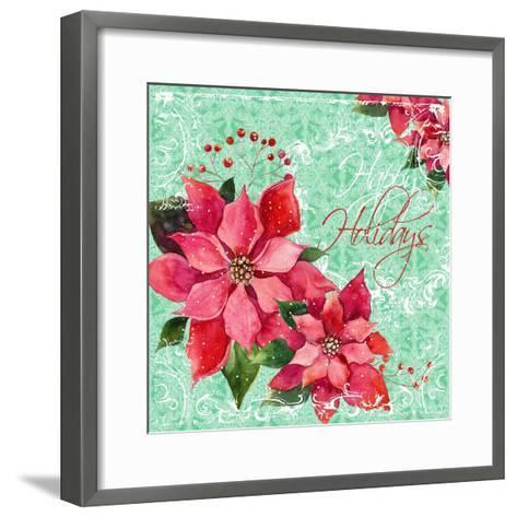 Christmas IV-Irina Trzaskos Studios-Framed Art Print