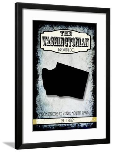 States Brewing Co Washington-LightBoxJournal-Framed Art Print