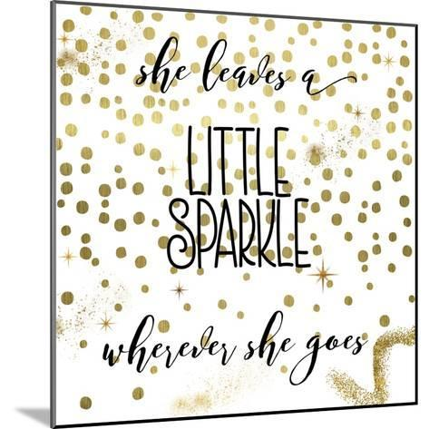 Sparkle-Color Bakery-Mounted Giclee Print