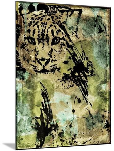 Leopard Ink-Color Bakery-Mounted Giclee Print