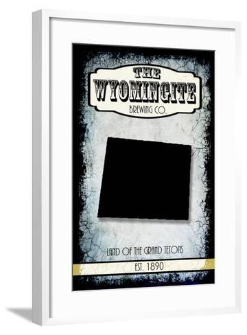 States Brewing Co Wyoming-LightBoxJournal-Framed Art Print