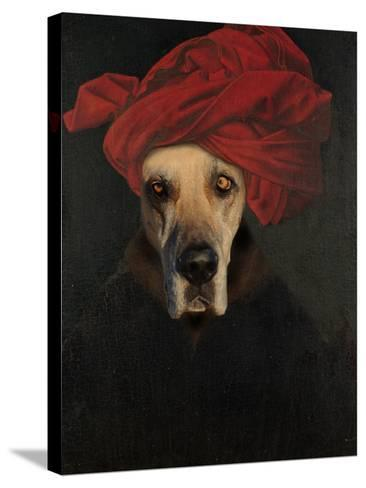Great Dane-J Hovenstine Studios-Stretched Canvas Print