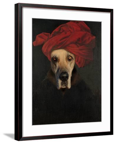 Great Dane-J Hovenstine Studios-Framed Art Print