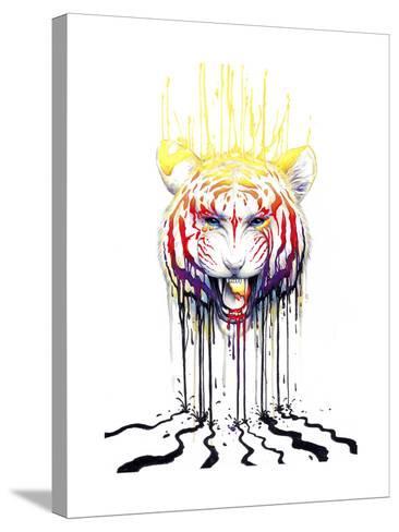 Fading-JoJoesArt-Stretched Canvas Print
