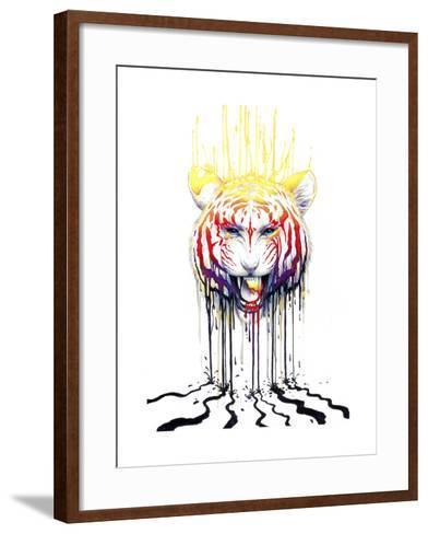 Fading-JoJoesArt-Framed Art Print