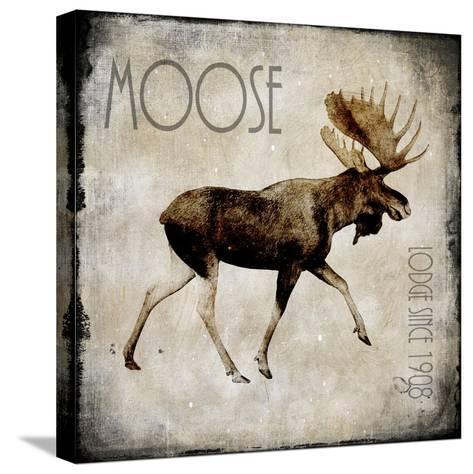 Moose Lodge 2-LightBoxJournal-Stretched Canvas Print