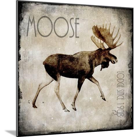 Moose Lodge 2-LightBoxJournal-Mounted Giclee Print