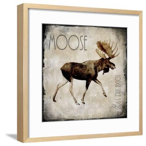 Moose Lodge 2-LightBoxJournal-Framed Art Print